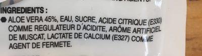 Aloe vera dessert - Ingredients - en