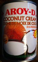 Aroy-D, Coconut Cream - Product - en