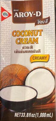 Coconut cream - Product - en