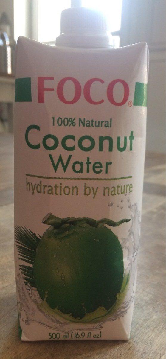 Foco, coconut water, 100%pure - Prodotto - en