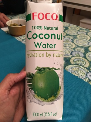 100% pure coconut water - Product - en