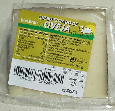Queso Curado de OVEJA - Product
