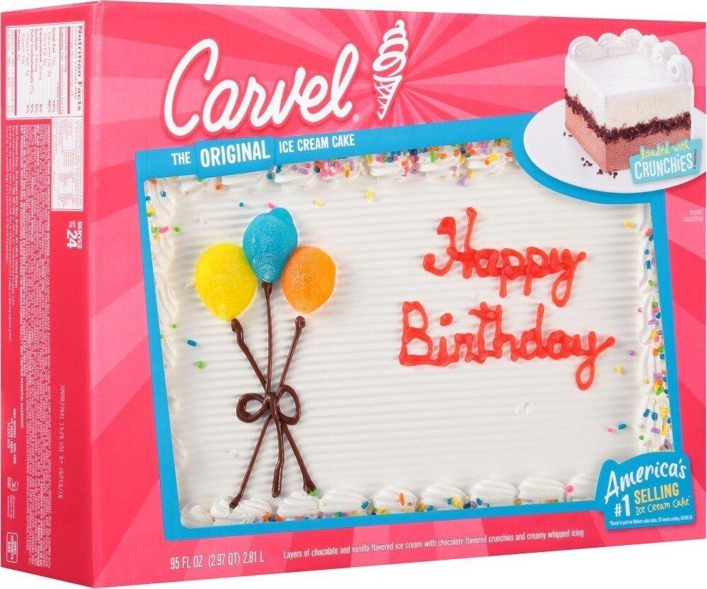 Celebration chocolate and vanilla ice cream cake - Product - en