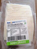 Queso de mezla semicurado lonchas - Product - es