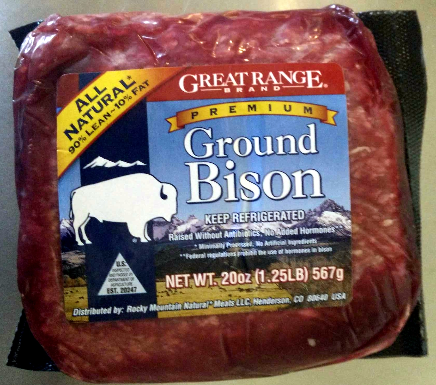 how to cook bison ground beef