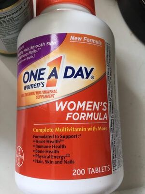 One a day women's formula - Product