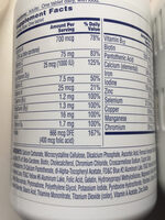 One a day women's formula - Ingredients