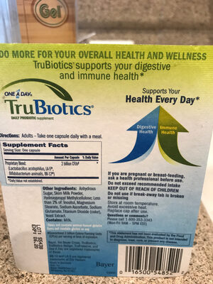TruBiotics - Ingredients