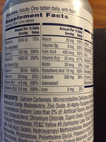 One a Day Women's 50+ - Nutrition facts