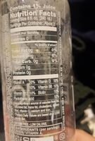 Sparkling ice - Informations nutritionnelles - en