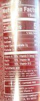 Cherry limeade - Informations nutritionnelles - en