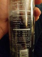 Sparkling Water - Informations nutritionnelles - en