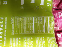 Sparkling Ice - Informations nutritionnelles