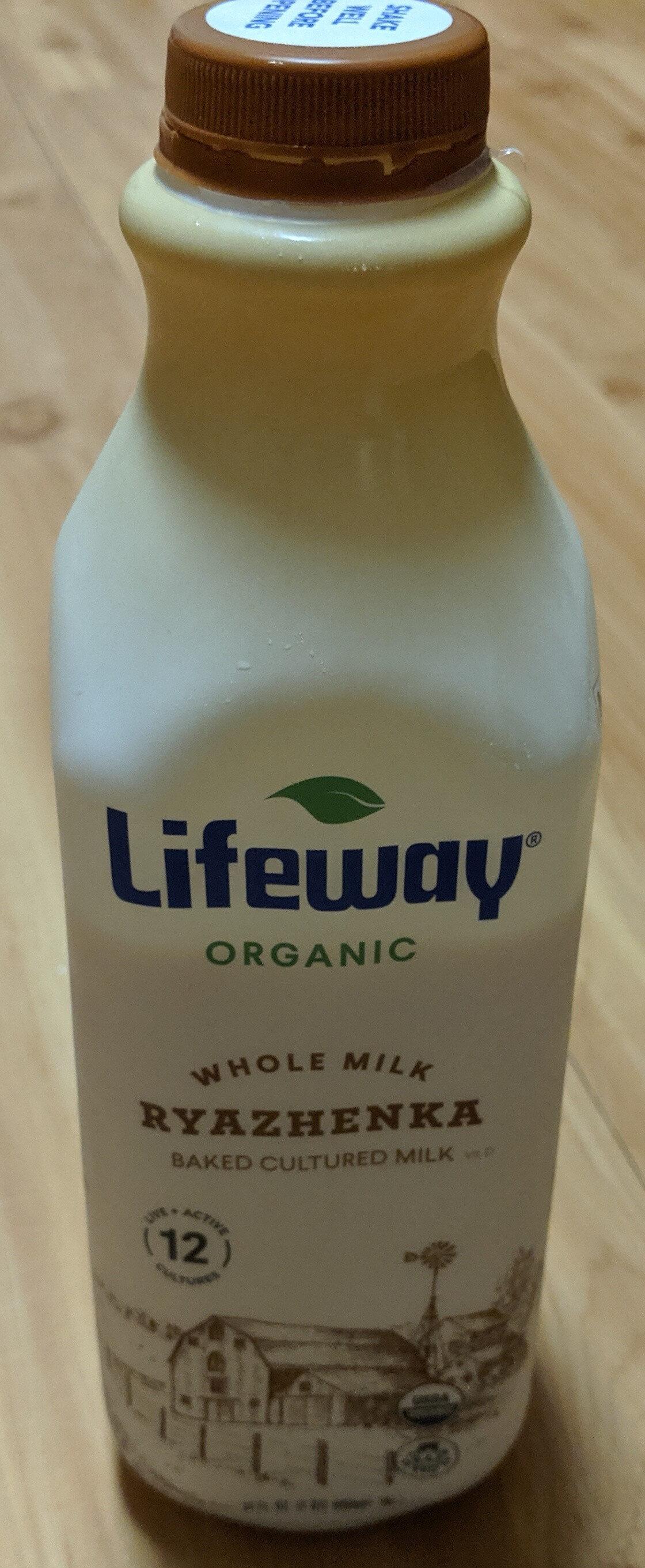 Whole Milk Ryazhenka Baked Cultured Milk - Product
