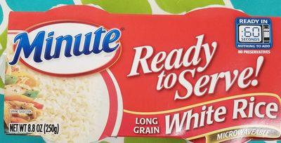 Long grain white rice - Product - en