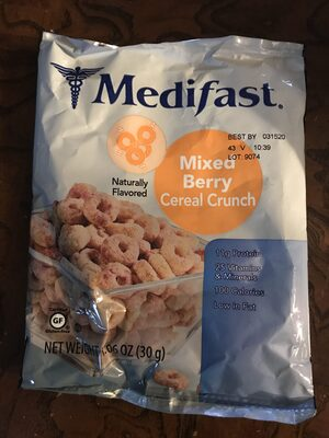 Mixed Berry Cereal Crunch - Product