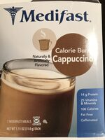 Calorie Burn Cappuccino - Product