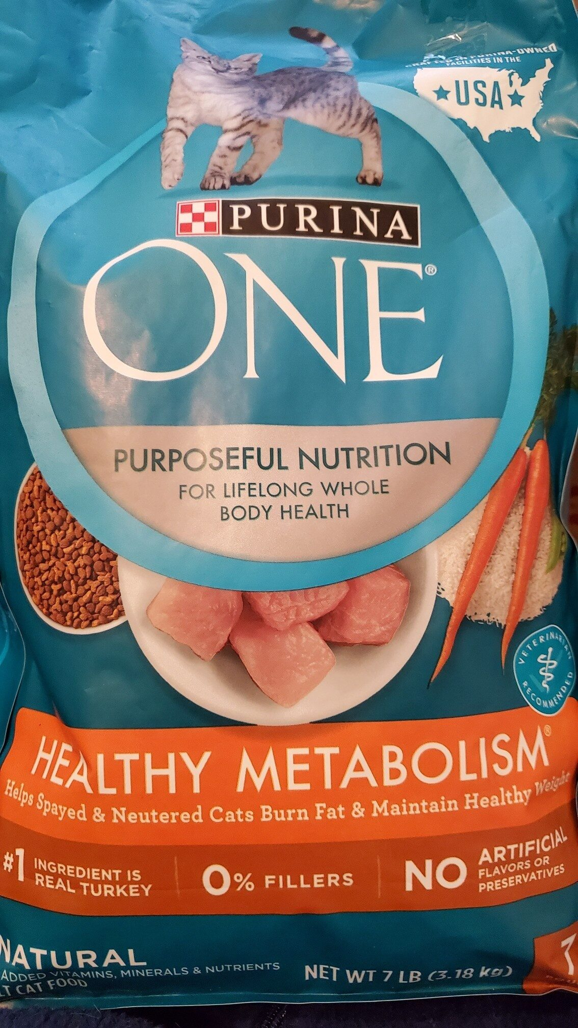 Purina one : metabolism - Product