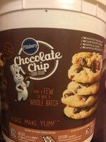 Pillsbury Chocolate Chip Cookie Dough - Product - en