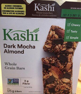 Dark Mocha Almond Whole Grain Bars - Product - fr