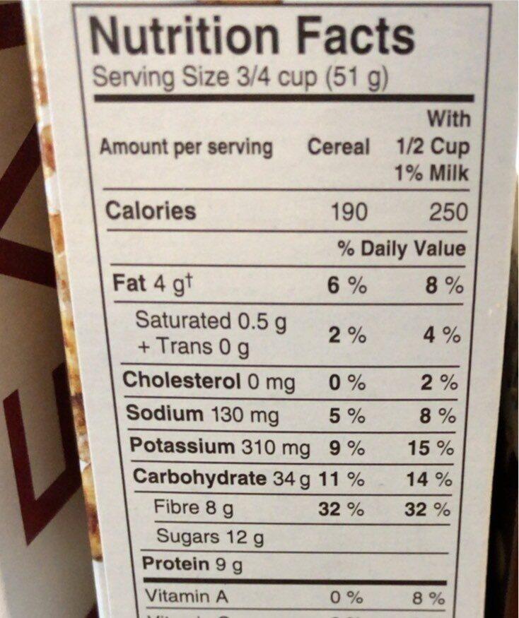 Go lean - Informations nutritionnelles - en