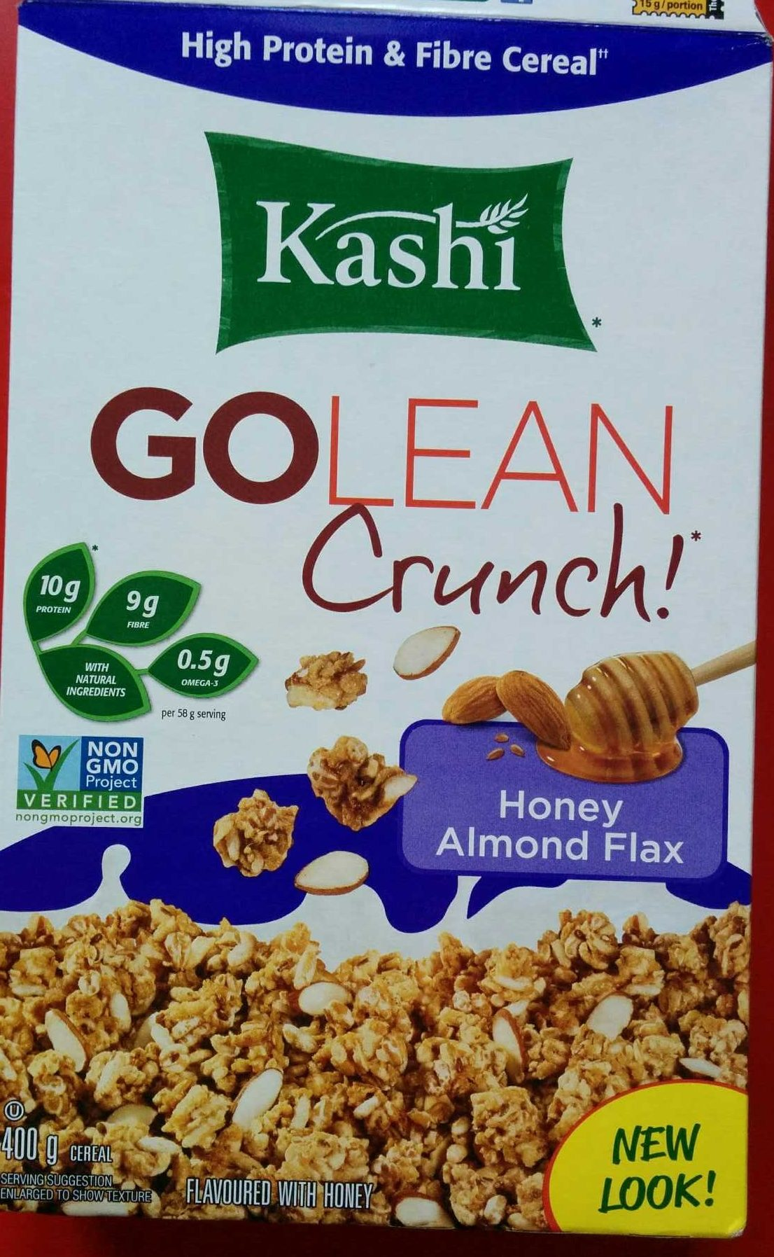 GoLean Crunch Honey, Almond, Flax - Product
