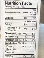 Céréales Go Lean Crunch - Informations nutritionnelles - fr