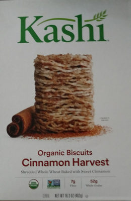 Kashi Organic Cereal Promise Cinnamon Harvest 16.3oz - Product - en