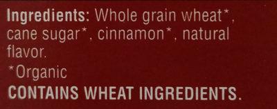 Kashi Organic Cereal Promise Cinnamon Harvest 16.3oz - Ingredients - en