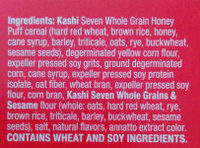 GOLEAN Original Cereal - Ingredients