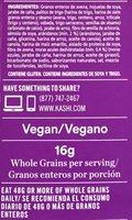Kashi Golean Cereal Crisp Toasted Berry 14oz - Ingredientes - es