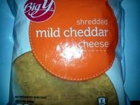 Shredded Mild Cheddar Cheese - Product