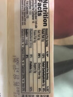 Muenster cheese - Nutrition facts