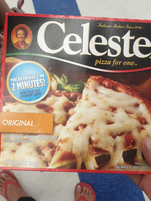 Pizza For One, Original Cheese Pizza - Product - en