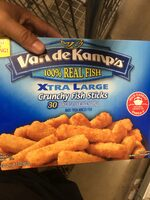 Xtra large crunchy fish sticks - Product - en