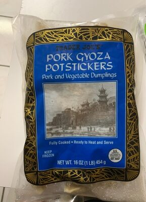 Pork Gyoza Poststickers - Product - en