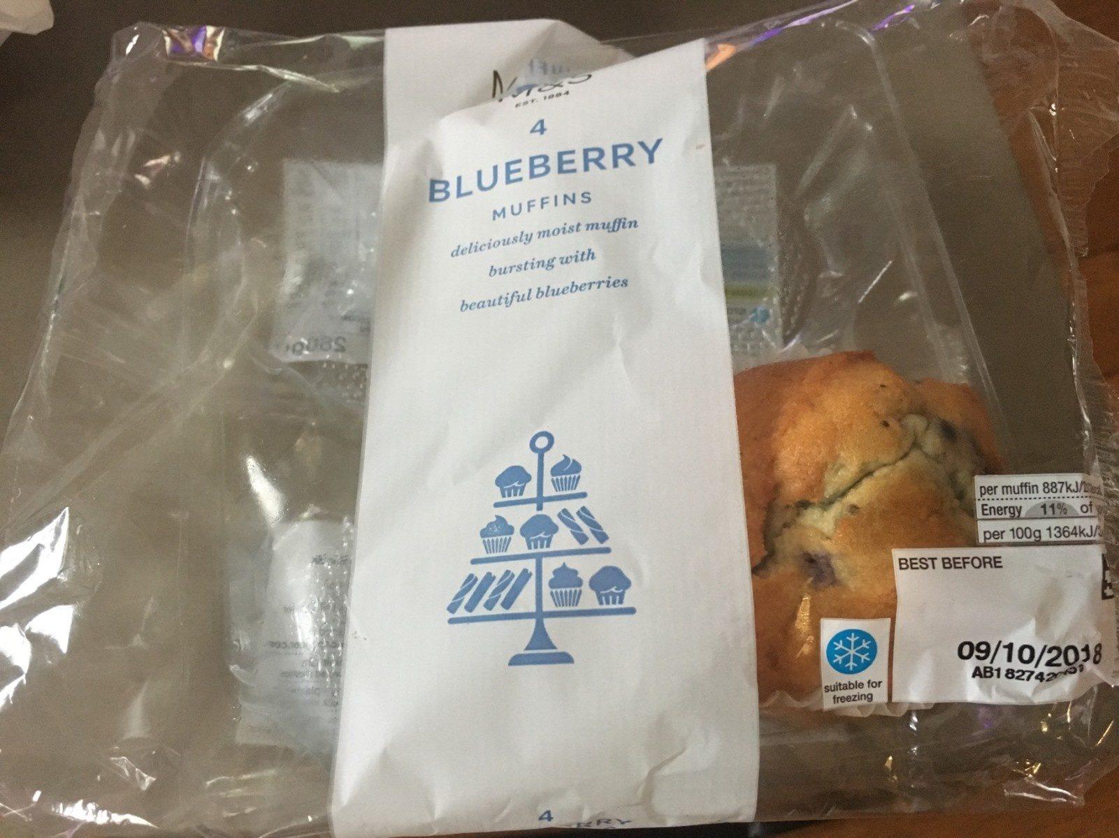 Blueberry Muffins - Produit - fr