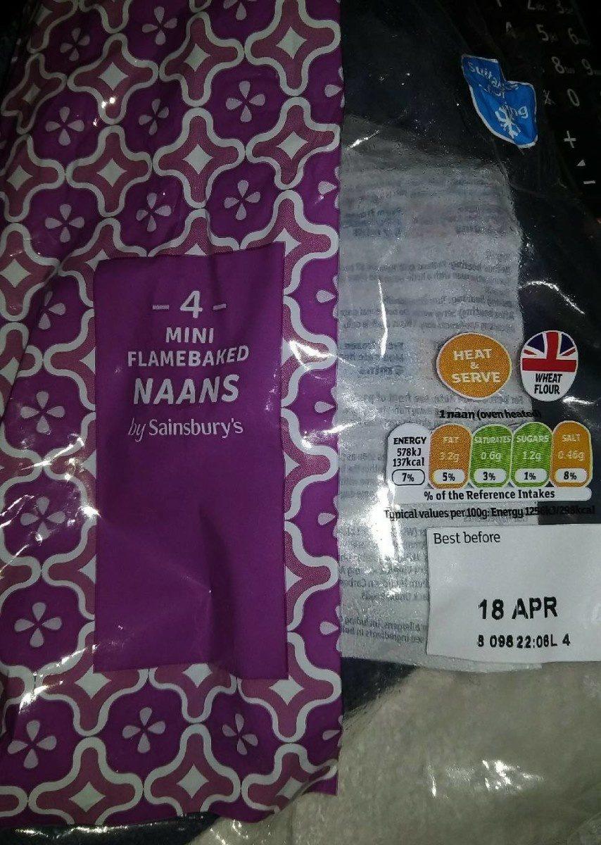 Mini naan - Product