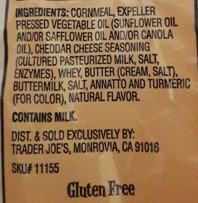 Baked Cheese Crunchies - Ingrediënten