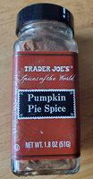 Pumpkin pie spice - Product - en
