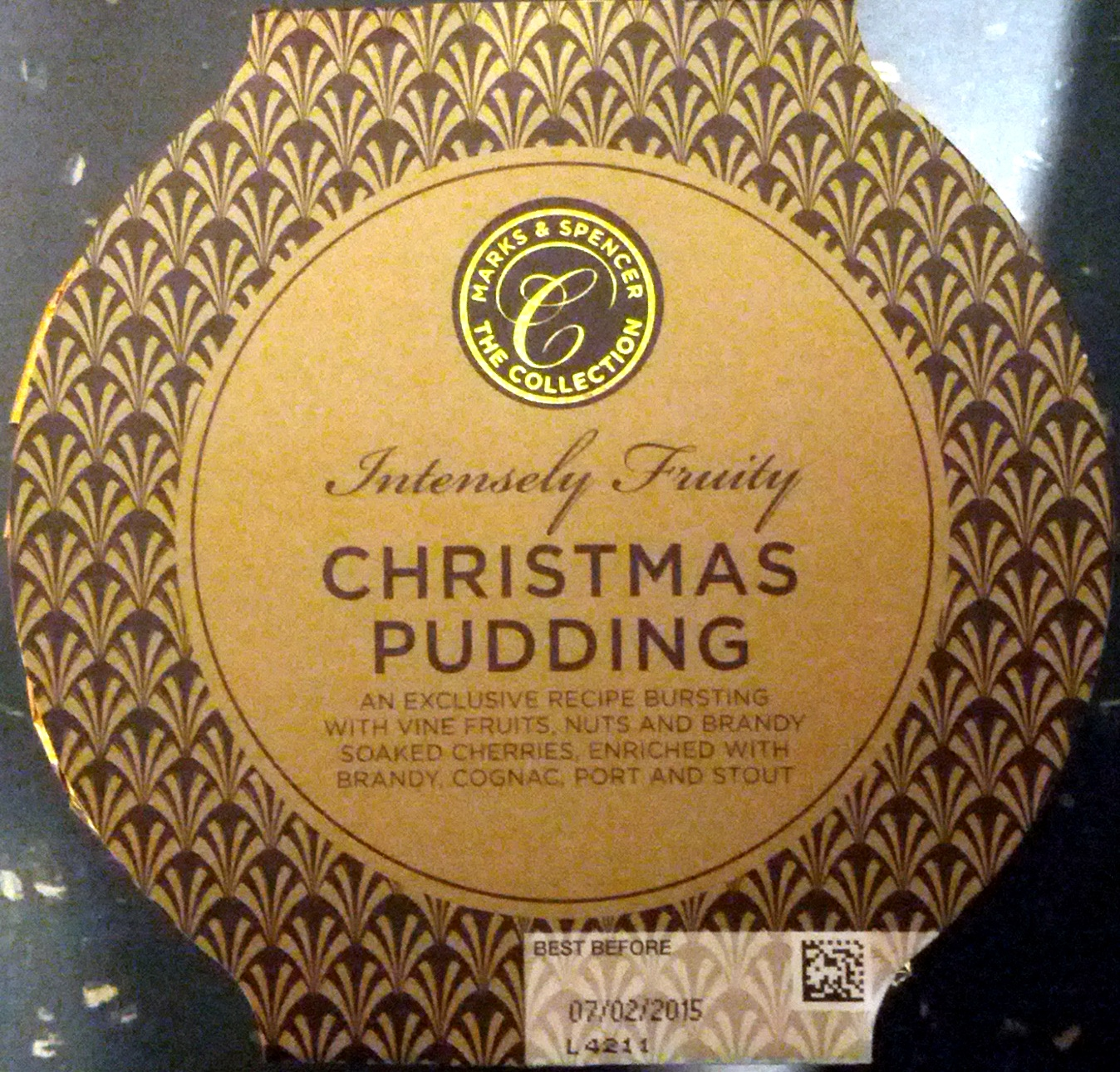 Perfectly Matured Christmas Pudding - Product - en