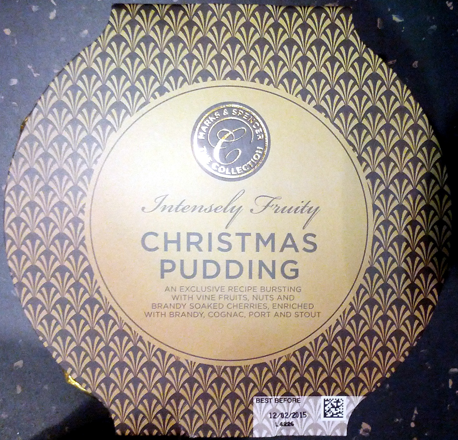 Intensely Fruity Christmas Pudding - Product