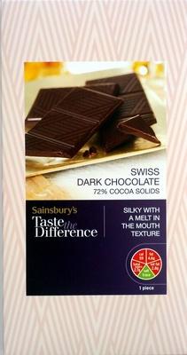 Swiss Dark Chocolate - Product