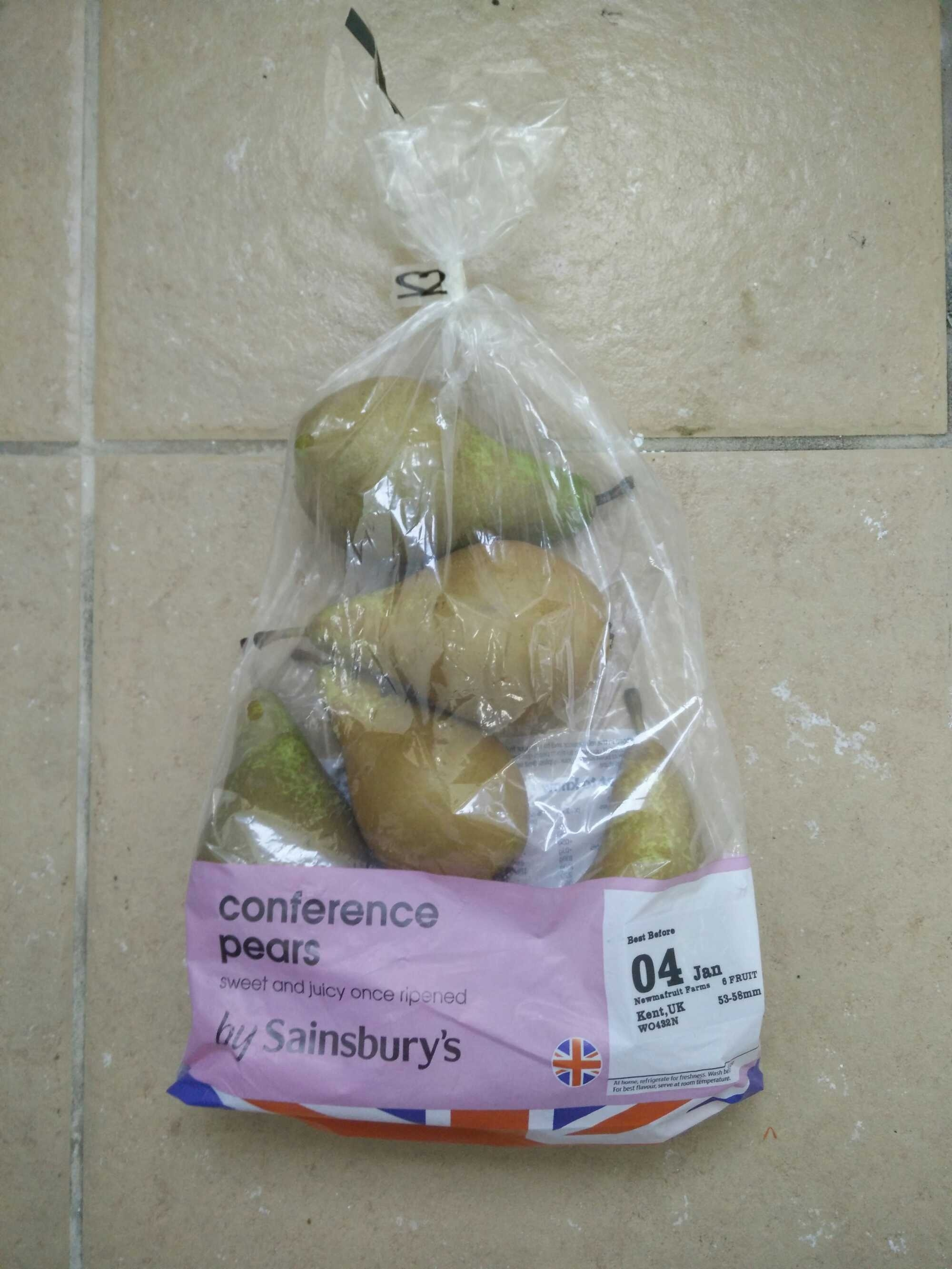 conference pears - Product - en
