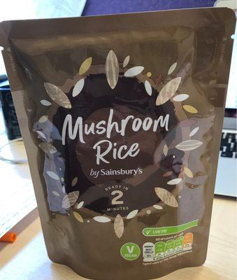Mushroom Rice - 1