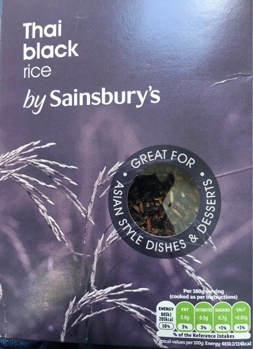 Thai black rice - Produit - en