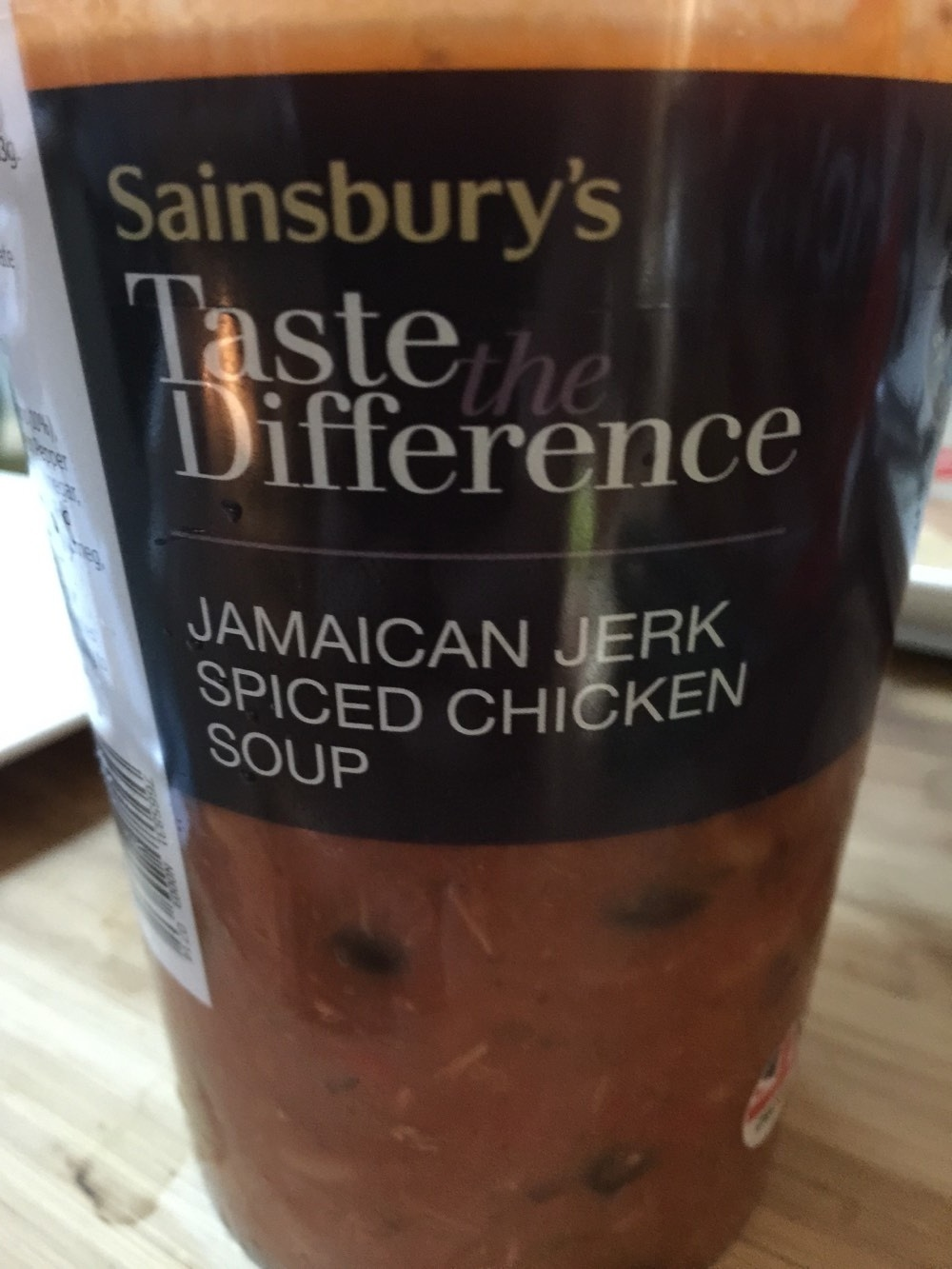 Jamaican Jerk Spiced Chicken Soup - Produit