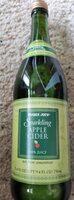 Sparkling apple cider - Product - en