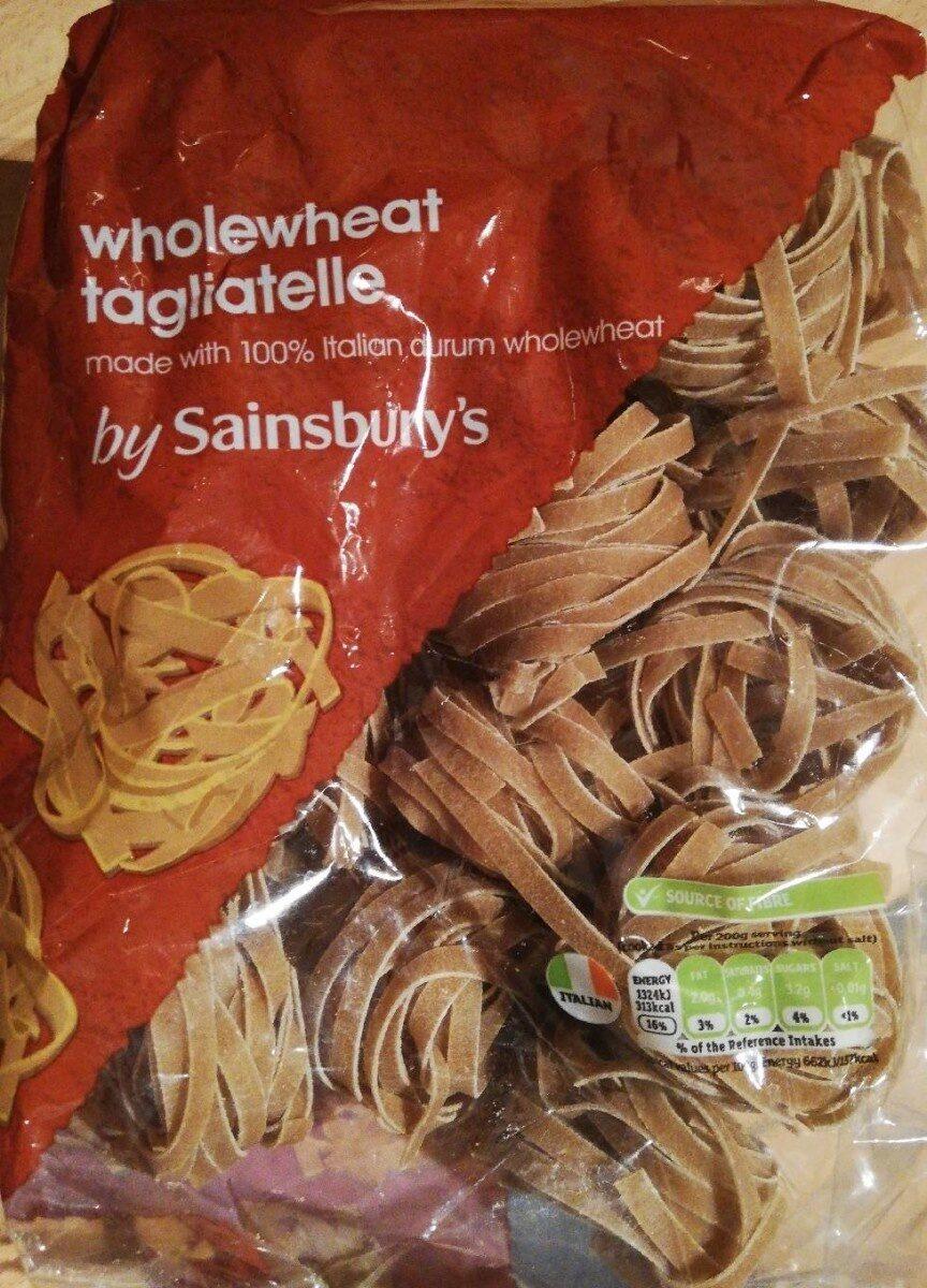 Wholewheat tagliatelle - Product