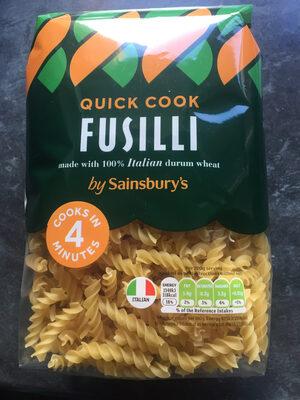 Quick Cook Fusilli - Produit - en